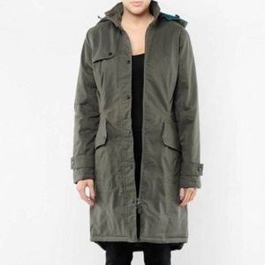 Spiewak Beeson Green Long Thinsulate Hooded Coat